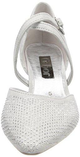 Gabor Damen Fashion Pumps Weiß (Ice)
