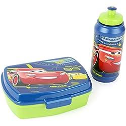 Joy Toy 782673 Porta Merenda e Borraccia Cars 3