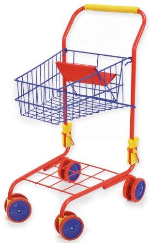 Bayer Design - 75001 - Jeu D'imitation - Commerçant - Chariot De Supermarché Couleur - 58 Cm