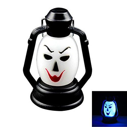Hexe New Halloween Lampe Portable Hängeleuchte Scary Horror Bunte Flash LED (1PCS) Laterne Feuerzeug Halloween Dekorationen ()