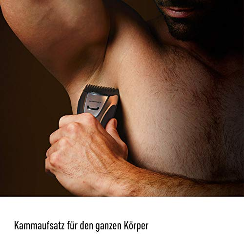 Panasonic Bart-/ Haarschneider ER-GB80 mit 39 Schnittstufen, Bartschneider für Herren, inkl. Präzisions-Trimmer, Pflege für Körper, Kopf & Bart