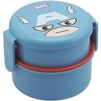 Captain America runden Lunch-Box zweistufige ONWR1 (Japan-Import)