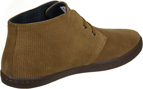 Fred Perry Byron Mid Suede Schuhe Braun