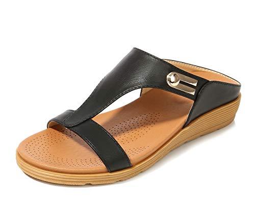 APTRO Women's Heel Wedges Open T...