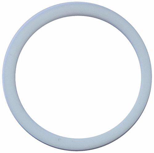 Aerzetix: 2 X Weißes technisches Dichtung im PTFE 37mm 3mm 43mm -120...250°C PG29