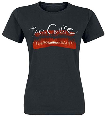The Cure Kiss Me T-Shirt Manches Courtes Noir XL