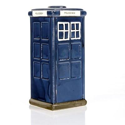 Ceramic Doctorr Who TARDIS Style POLICE BOX Money Bank