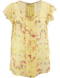 Hoss Intropia Women's Floral Sleeveless Blouse