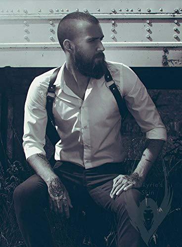 ZGHD Sexy Dessous Herren Unterwäsche Sexy Bondage, Erotische Leder Sex Toys für Paare oder Homosexuell Verlockende Männer Körper