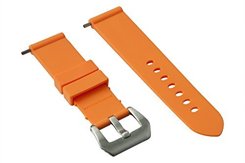 bracelet-de-montre-en-caoutchouc-24mm-orange