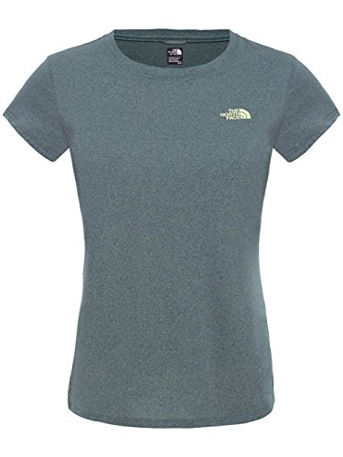 North Face Reaxion T-Shirt Femme Spruce Green Heather