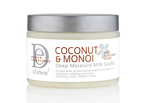 DEEP MOSTURE MILK SOUFFLE NATURAL COCONUT & MONOI 340 G DESIGN ESSENTIALS