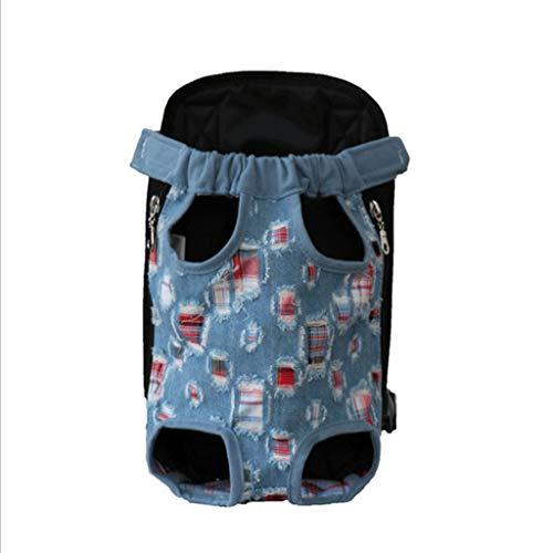 YUNFEILIU Pet Products Breathable Reisetasche Haustier Schulter Brusttasche,D