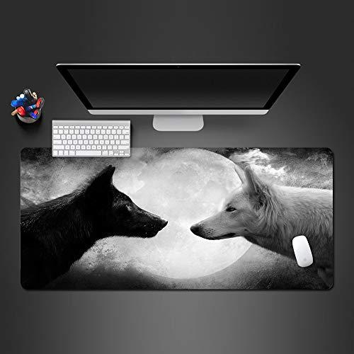 DHSBD Tappetino per Mouse per Materiale di Gomma Naturale di Alta qualità Tappetino per Mouse da Gioco Super Grande Formato Ultrasottile Lavabile per pc, Ufficio, tappetini perTastiera700x300x3mm