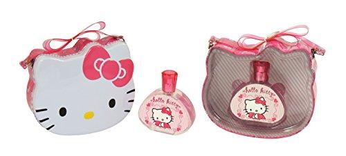 Hello Kitty Eau de Toilette Spray and Metal Lunch Box, 100 ml