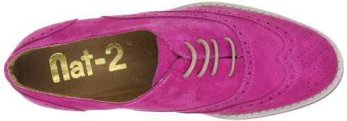 Nat-2 BOB Damen Klassischer Schnürer Pink (Pink Suede)