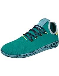 online store f5b87 5f11f adidas Originals Pharrell Williams Tennis HU Sneaker da uomo Verde CQ1872,  Taille 38