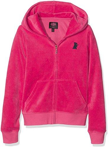 juicy-couture-solid-robertson-felpa-con-cappuccio-bambina-rosa-mouse-pink-8-anni