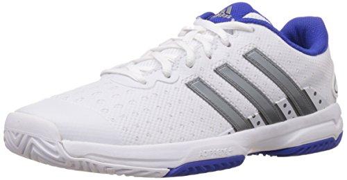 brand new c8551 09465 adidas Barricade Team 4, Chaussures de Tennis Mixte Enfant Blanc (xj  Ftwwht iro