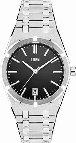 Storm London Hixter 47308/BK Reloj de Pulsera para hombres Plano & ligero