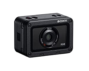 Sony DSC-RX0 1.0-Type Sensor Ultra-Compact Camera with Waterproof and Shockproof Design - Black