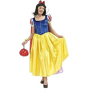 Rubies 3 888588 L - Disfraz de blancanieves para mujer (talla L)