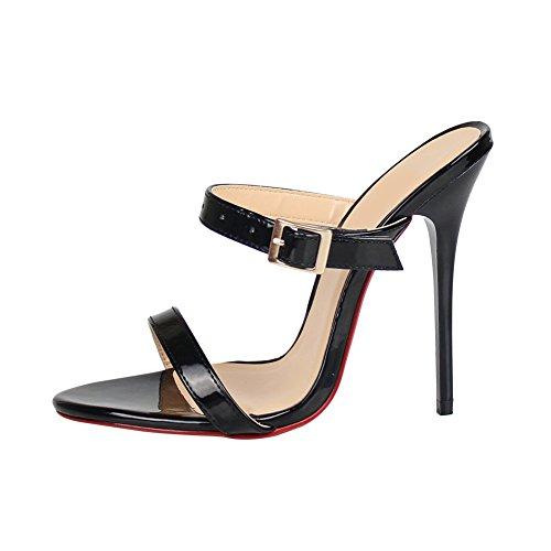 fereshte - Peep-Toe donna Black