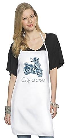 City cruiser Les cuisiniers tablier Top Quality Chef's Apron  Custom
