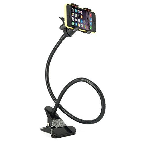 JVJ universale Phone Holder flessibile Long Arm / collo del telefono cellulare della clip a collo di cigno morsetto supporto sull'automobile, scrivania, tavolo per Iphone, Samsung, HTC Ect