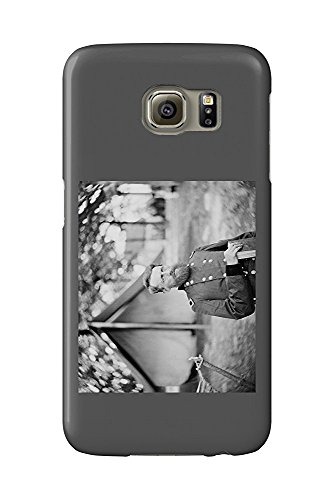 Fair Oaks, VA - Gen. Stoneman in Camp Civil War Photograph (Galaxy S6 Cell Phone Case, Slim Barely There)