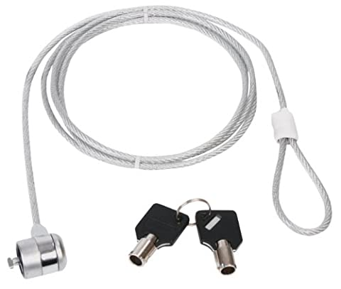 Konig electronic CMP-SAFE3 Cable Antivol universel pour ordinateur portable netbook notebook 2 clés incluses