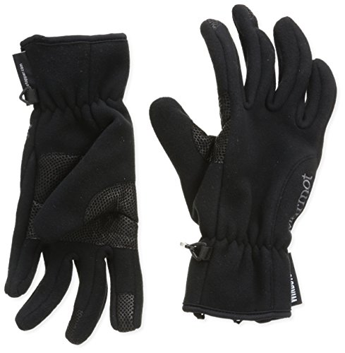 Marmot Windstopper Handschuh, Damen, Black