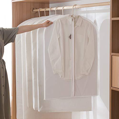 Decke Kostüm Nasse - MILASIA Kleiderhüllen, transparente Kostümhülle mit Reißverschluss und Reise-Anti-Staubmilben-Feuchtigkeit für Kostüme Mäntel