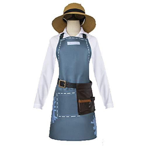 CAGYMJ Halloween Kostüm Männlich Frau,Cosplay Gärtner Uniform Anzug Spiel Fünfte Persönlichkeit,Oktoberfest Ostern Kleidung Karneval Party,M (Oktoberfest Kostüm Männlich)