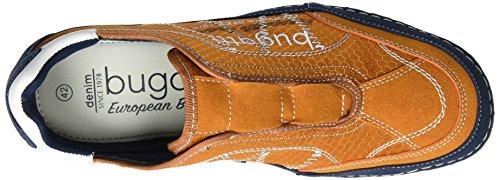 Bugatti F24746v6, Mocassins Homme Orange (Orange 340)