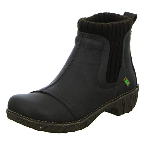 Importiert Damen Stiefel (El Naturalista Damen Stiefeletten NE23 - Importiert, Braun schwarz 339954)