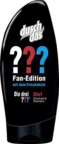 Duschdas 2 in 1 Duschgel und Shampoo Die Drei Fragezeichen Fan-Edition, 6er Pack (6 x 250 ml)