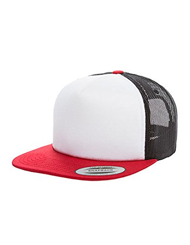Flexfit Herren Caps / Trucker Cap Foam rot one size