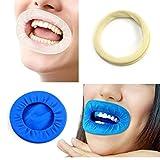 Zonster 1 PCS Gomma Dental Dam APRIBOCCA intraorale Odontoiatria Divaricatori guancia Chirurgia O Forma igiene Orale Blu