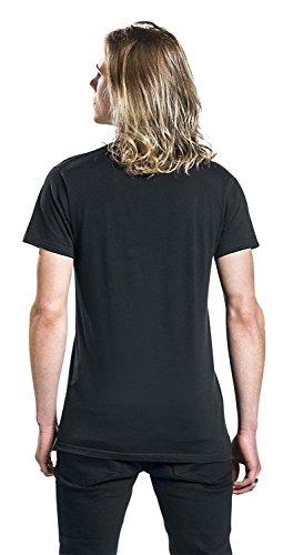 The Doors Logo T-Shirt schwarz Schwarz