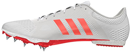 adidas Adizero Middle-Distance, Chaussures de Running Entrainement Mixte Adulte Blanc Cassé (Ftwr Whitesolar Redsilver Metallic)