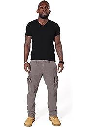 Pantalon Cargo Homme - Gris