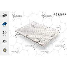 COSMOS – COLCHONCILLO Modelo System 150x190 cm VISCOELÁSTICA VISCO V90®-Espuma HR Active Latex