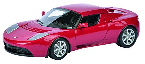Schuco 450897700 - Tesla Roadster, 1:43, rot