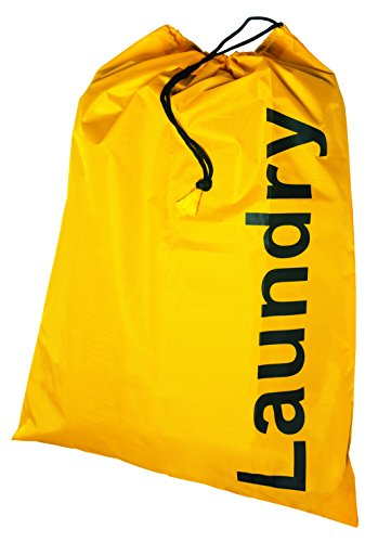Preisvergleich Produktbild Kleiber 93207 Wäschebeutel,  Stoff,  gelb,  55 x 70 x 0, 2 cm