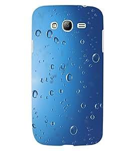 ColourCraft Water Drops Design Back Case Cover for SAMSUNG GALAXY GRAND NEO PLUS I9060I