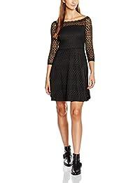 VERO MODA Damen Kleid Vmkanel Offshoulder 3/4 Short Dress D2-8