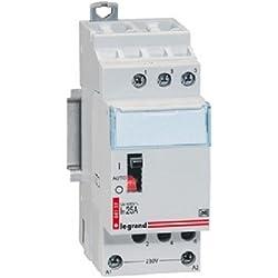 Legrand LEG92754 Contacteur lexique pour tarifs heures creuses 3p 400 V~ 20 A 3f 2 modules