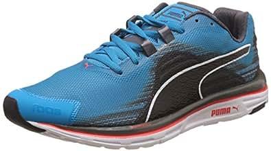 Puma Men's Faas 500 V4 Weave Atomic Blue, Periscope and Black Running Shoes - 6 UK/India (39 EU)