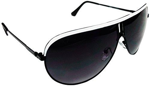 Scarface - Lunettes de soleil - Homme multicolore blanc/noir Taille Unique